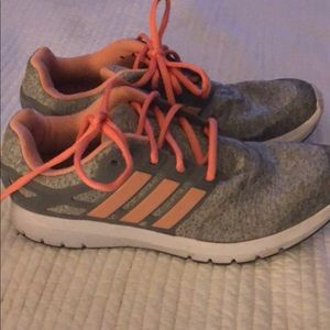 Ladies size 10 Adidas Running Shoes